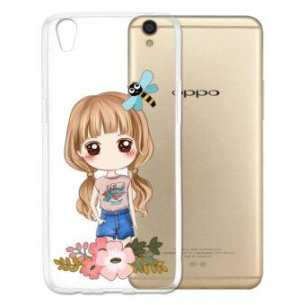 AFTERSHOCK TPU Case OPPO F1 Plus (เคสใสพิมพ์ลาย I'm a gril 3) / Thin 0.33 mm