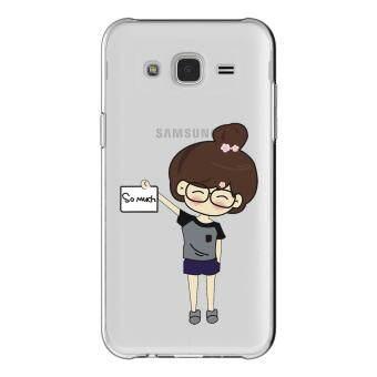 HugCase TPU เคส Samsung Galaxy Grand 2 เคสโทรศัพท์พิมพ์ลาย SO MUCH เนื้อบาง 0.3 mm