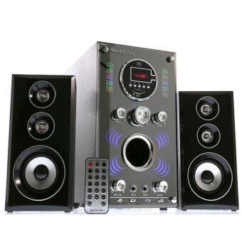 Music D.J. Speaker ลำโพง M-A8 (2.1) BLUETOOTH, FM,USB