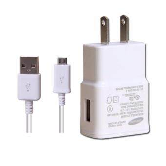 Harga Samsung หัวชาร์จสำหรับGalaxy noet 3/S4/S5/S6 Home Wall Charger