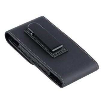 ซองกระเป๋าโทรศัพท์หนัง pu ปลอบใจสำหรับ Apple iPhone 5/5S/5C สีดำ
