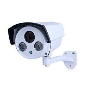 กล้องวงจรปิด 1200 TVL รุ่น GCC11+1+1 (สีขาว)