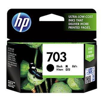 HP 703 BK ตลับหมึก HP สีดำ