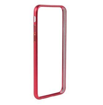 "Red Metallic Bumper Case for iPhone 6/6s 4.7"" เคสบัมเปอร์ สำหรับไอโฟน 6/6s 4.7"" สีแดง"