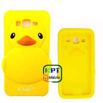 KPT เคสซิลิโคนเป็ดเหลืองสำหรับ Samsung Galaxy J120