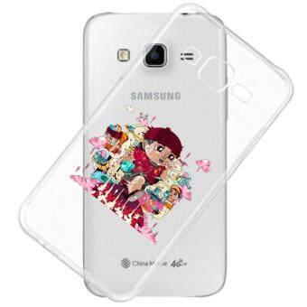 AFTERSHOCK TPU Case Samsung Galaxy J2 2016 (เคสใสพิมพ์ลาย RUN) / Thin 0.33 mm