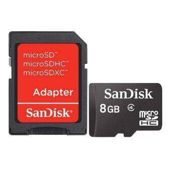 SanDisk เมมโมรี่การ์ด 8GB Micro SD SDHC 8 GB TF Retail