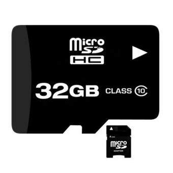 เมมโมรี่การ์ด หน่วยความจำ Micro SDHC 32 GB Class 10
