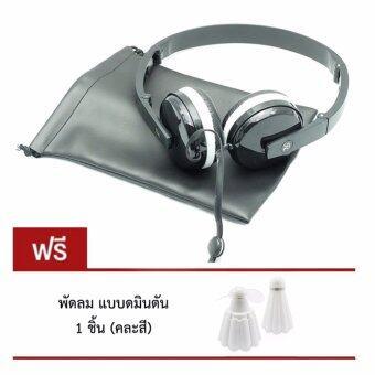 DT หูฟังมาการอง แบบครอบหู SIBYL MACARONS EARPHONE รุ่น X-18 แถมฟรี พัดลม รุ่นแบดมินตัน