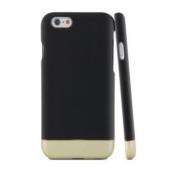 GMYLE เคสไอโฟน iPhone 6s (สีดำ / แชมเปญโกล)