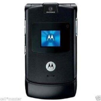 Harga REFURBISHED Motorola V3 RAZR รองรับ AIS/DTAC/TRUE (Black)