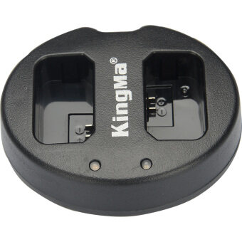 Kingma BM015-EL14 ชาร์จ usb แบบคู่สำหรับ Nikon EN-EL14 แบตเตอรี่-สีดำ