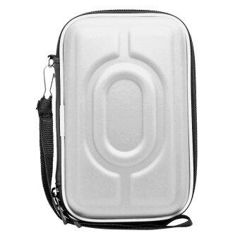 Portable Printer Storage Bag PU Shock-proof Daily Life Waterproof Carrying Case Protection Box Hard Shell for Polaroid ZIP Mobile Printer HP Sprocket ...