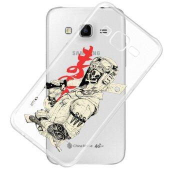 AFTERSHOCK TPU Case Samsung Galaxy J5 2015 (เคสใสพิมพ์ลาย Ninja) / Thin 0.33 mm