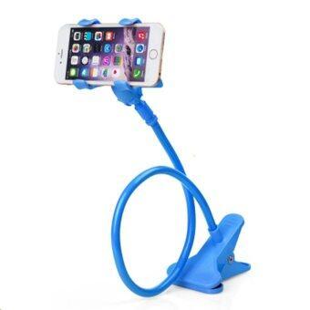 ขาจับมือถือ ที่หนีบสมาร์โฟน iphone samsuang แท่นวางไอโฟน แบบหนีบ(สีฟ้า)