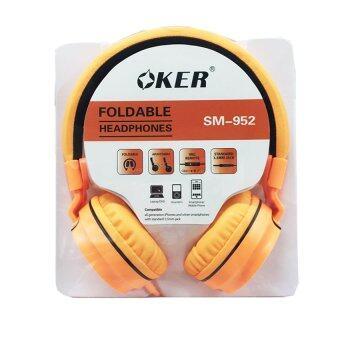 OKER หูฟังแบบครอบหู สำหรับมือถือ/คอม รุ่น