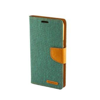 Goospery เคส Samsung Galaxy J7 Version 2 (2016) รุ่น #CANVAS DIARY (Green)