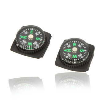 10PCS Compass for Paracord Bracelet Outdoor Camping Hiking Emergency Survival Tool