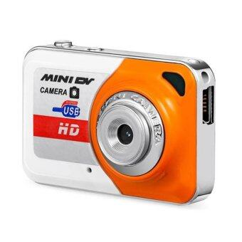 Harga X6 Mini DV Camera Recorder Video Camera Sports DV Camera Camcorders Ultrathin - intl