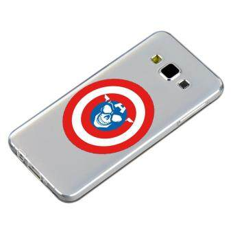 HugCase TPU เคส Samsung Galaxy A5 2015 เคสโทรศัพท์พิมพ์ลาย Shield เนื้อบาง 0.3 mm