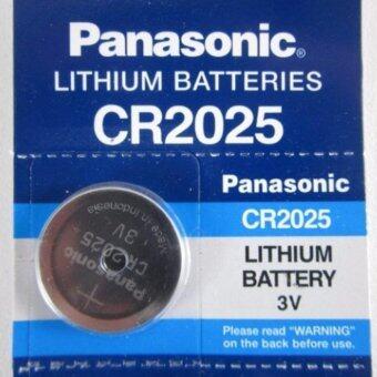 Panasonic ถ่านเมนบอร์ด ถ่านกระดุม lithium CR2025 (1 แพ็ค 5 ก้อน)