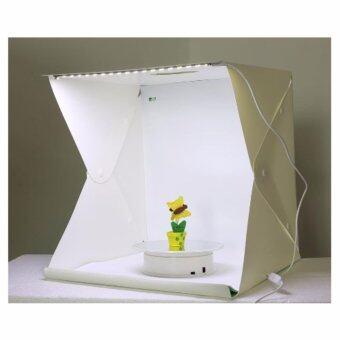LightBox สตูดิโอถ่ายภาพแบบพกพา ขนาด40x40x40ซม. สตูดิโอถ่ายภาพ สตูดิโอแบบพกพา Portable Photo Studio Booth 40x40x40cm