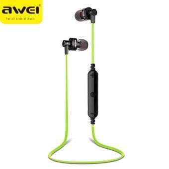 AWEIหูฟัง บลูทูธBluetooth 4.0 Sport Earphones A990BL