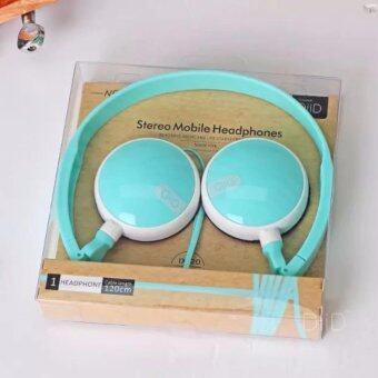 DiiD หูฟังครอบหู HeadPhone รุ่น IX20 (สีฟ้า)