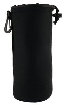 Martin กระเป๋าใส่เลนส์ ถุงใส่เลนส์ Lens Pouch กันน้ำ กันกระเแทก ไซส์ XL - Black
