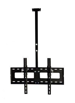 Atomicbuys ขาแขวนทีวี ติดเพดาน 32 - 60 นิ้ว รุ่น C3 (Black) ท่อเหล็กยาว 1.2 เมตร
