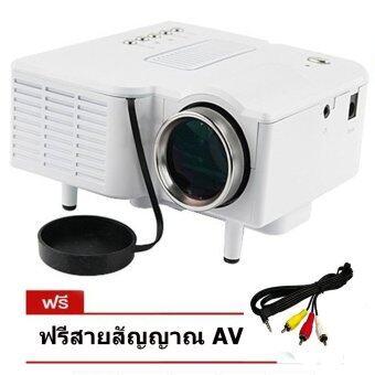 ISMART VUC28หลอด LED Projector VGA All in one มีลำโพงในตัว-สีดำ