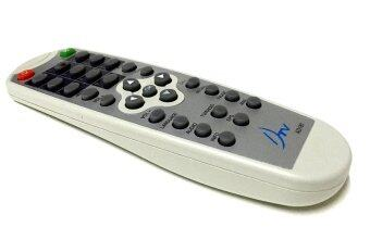 DTV รีโมท กล่องจานดาวเทียม (สีขาว)