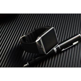 Smart Watch Z นาฬิกาโทรศัพท์ รุ่น A9 Phone Watch (Silver) ฟรี power bank 50000mAh