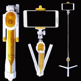 ไม้เซลฟี่รุ่นใหม่ มาพร้อมขาตั้ง และ รีโมทบูลทูธ 4 in 1 (Monopod Selfie Stick)