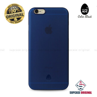 STONE AGE Color Block Collection Slim Fit Case 0.4 mm. ของแท้ สำหรับ iPhone 6 และ iPhone6S สีน้ำเงิน (Navy Blue)