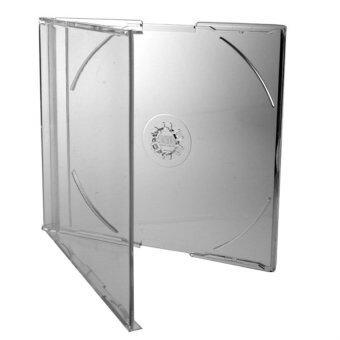 IS กล่องใส่แผ่น CD SLIM 10 แพ็ค 100 ชิ้น (สีใส)