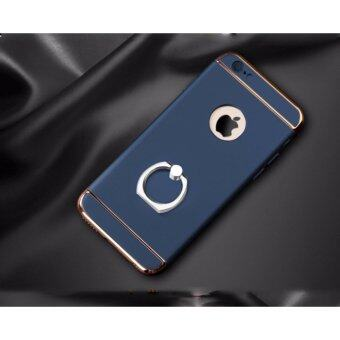 Case Apple iPhone 7plus/5.5 เคสกันกระแทก เนื้อวัสดุ Polycarbonate (สีดำ,ทอง,ทองชมพู,น้ำเงิน)