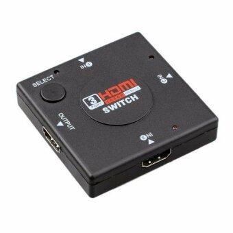 HDMI 3 Port Switch HDMI Switch เข้า 3 ออก 1 สำหรับเพิ่มช่อง HDMI