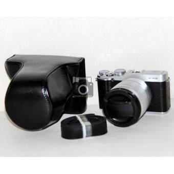 กระเป๋ากล้องกระเป๋าเคสครอบสำหรับ fuji xa3 xa2 xa1 xm1 Full case