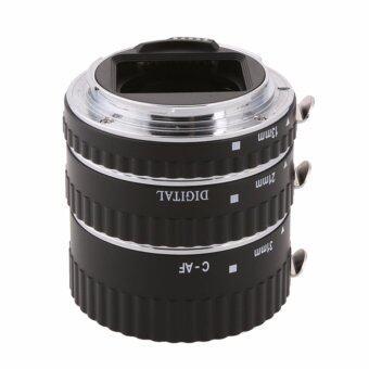 Meike ท่อต่อเลนส์ถ่ายมาโคร Canon EOS 60D,70D,80D,100D,77D,9000D หน้าสัมผัสโลหะ ปรับรูรับแสงได้ Macro Extension Tube