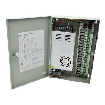 ชุดจ่ายไฟ กล้องวงจรปิด Power Supply cctv 18 Channel 12V30A ราคาถูกที่สุด ส่งฟรีทั่วประเทศ