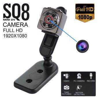 Harga SQ8 Mini DV Camera 1080P Full HD Car DVR - BLACK