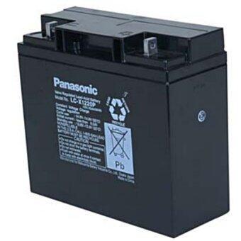 Panasonic แบตเตอรี่แห้ง รุ่น LC-P1220NA 12V 20Ah SLA ฺBATTERY(สีดำ)