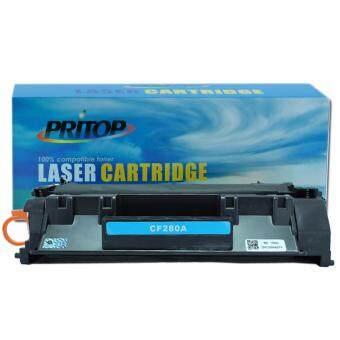 HP- LaserJet Pro 400 M401A/M401D/M401DN/M401DW/M401N , MFP M425DN/M425DW ใช้ตลับหมึกเลเซอร์เทียบเท่ารุ่น CF280A/CF280/280A/80A Pritop