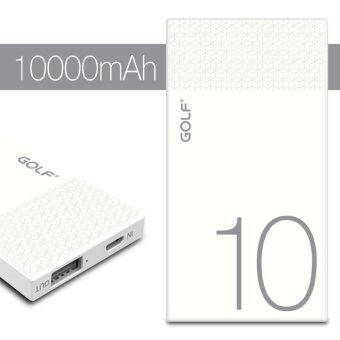 GOLF Hive10 แบตเตอรี่สำรอง 10000mAh (2 ช่องชาร์ต) [รับประกัน 6 เดือน]