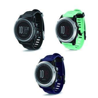 Bluesky 3ชิ้นแทนสายรัดซิลิโคนนาฬิกาสำหรับ Garmin Fenix 3 สีน้ำเงิน+สีน้ำเงิน+สีเขียว