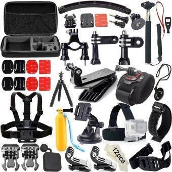 Neewer 50-In-1 Sport Accessory Kit for GoPro Hero4 Session Hero1 233+ 4 SJ4000 5000 6000 7000 Xiaomi Yi in Swimming RowingSkiingClimbing Bike Riding Camping ...