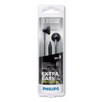 Philips SHE3015 หูฟังเอียร์บัดพร้อม mic