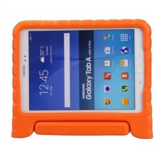 Harga MULBA Shockproof Protection Handle Stand Case For Samsung Galaxy Tab A 8.0-inch SM-T350 (Orange)