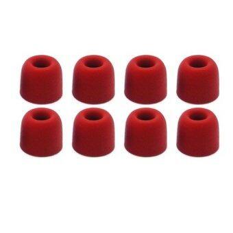 จุกโฟมสำหรับหูฟังอินเอียร์ รุ่น T400 4 คู่ (สีแดง)